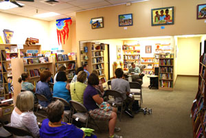 """Ken McConnell reading a selection of his story """"Ocherva"""""""